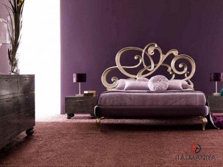 Фото 1 - Спальня Viola фабрики Corte Zari (производство Италия) в классическом стиле из массива дерева