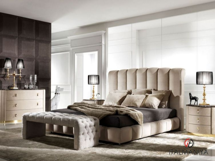 Фото 1 - Спальня Byron фабрики DV Home (производство Италия) в стиле арт-деко из массива дерева