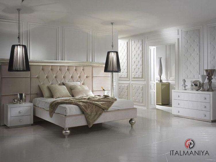 Фото 1 - Спальня Contrast maxi фабрики DV Home (производство Италия) в стиле арт-деко