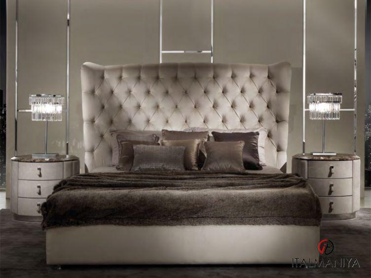 Фото 1 - Спальня Vogue фабрики DV Home (производство Италия) в стиле арт-деко из МДФ