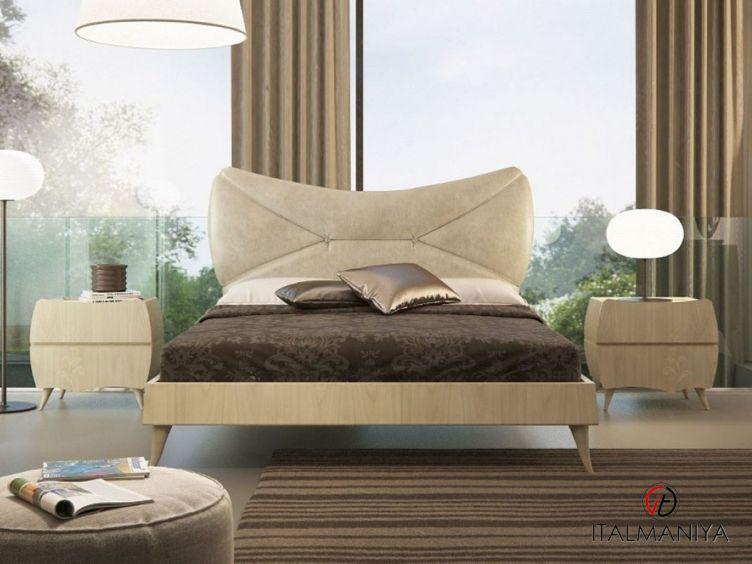 Фото 1 - Спальня Essenzia фабрики Domus (производство Италия) в современном стиле из массива дерева