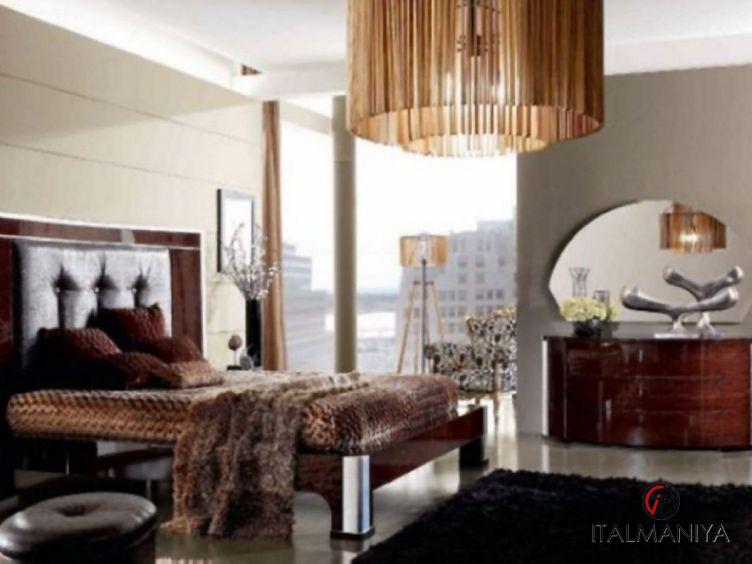 Фото 1 - Спальня Mon Amour фабрики Domus (производство Италия) в современном стиле из массива дерева
