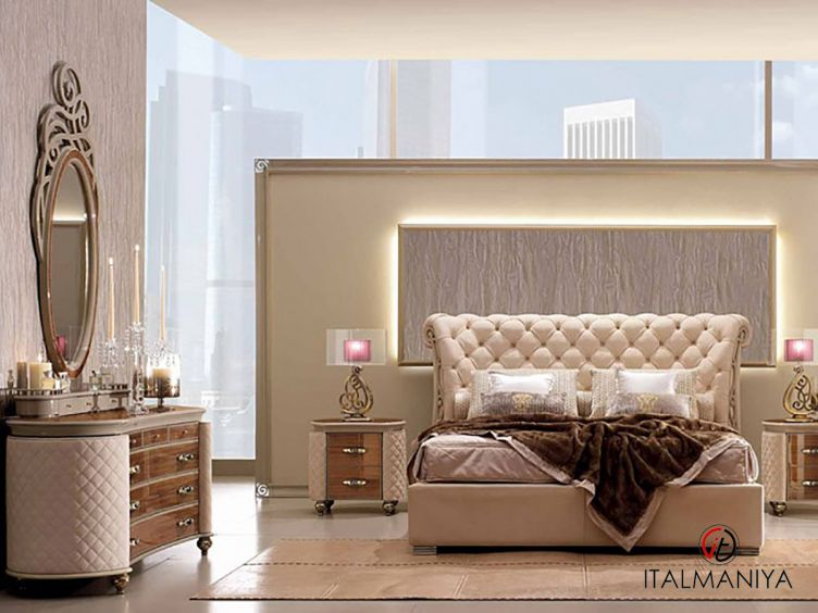 Фото 1 - Спальня Bolgeri фабрики Ebanisteria Bacci (производство Италия) в классическом стиле из массива дерева