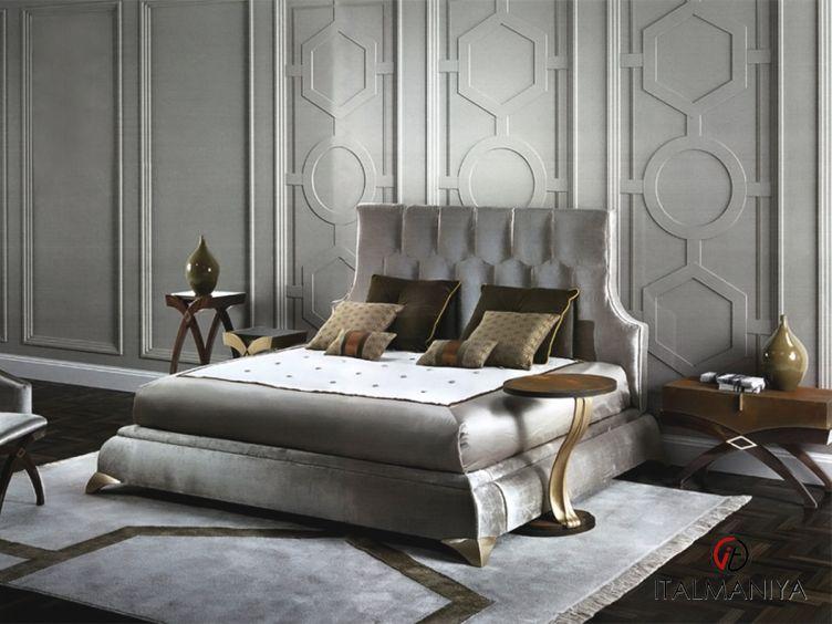 Фото 1 - Спальня Gaspare фабрики Elledue (производство Италия) в стиле арт-деко из массива дерева