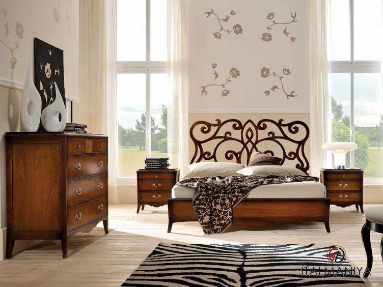 Фото 1 - Спальня Monet фабрики FM Bottega (производство Италия) в классическом стиле из массива дерева