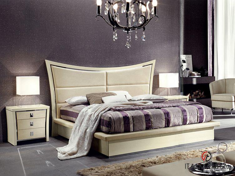 Фото 1 - Спальня Fly фабрики Formerin (производство Италия) в современном стиле из массива дерева