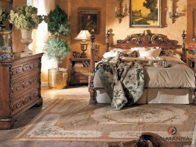 Фото 1 - Спальня Italian & French Country фабрики Francesco Molon (производство Италия) в классическом стиле из массива дерева