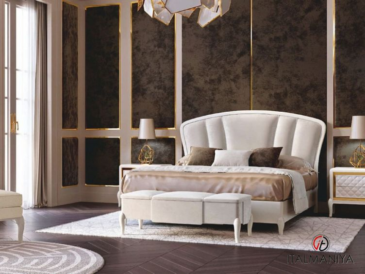 Фото 1 - Спальня Ocean фабрики Francesco Pasi (производство Италия) в современном стиле из массива дерева