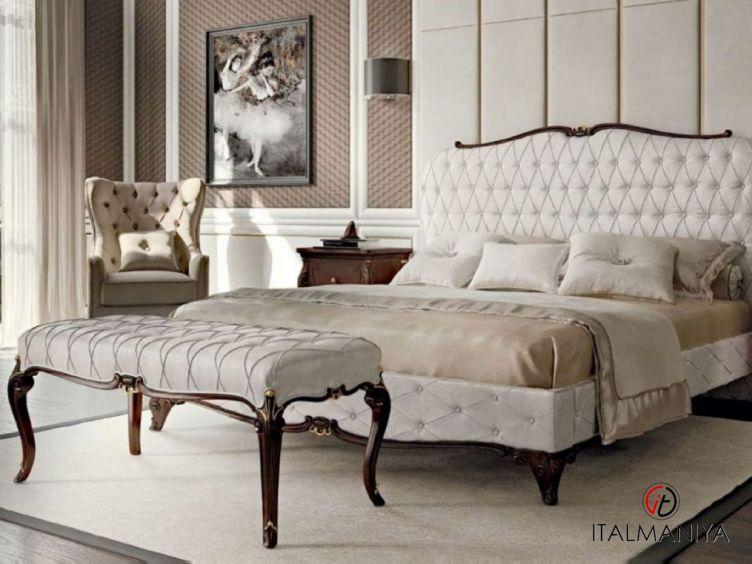 Фото 1 - Спальня Opera фабрики Francesco Pasi (производство Италия) в стиле арт-деко из массива дерева
