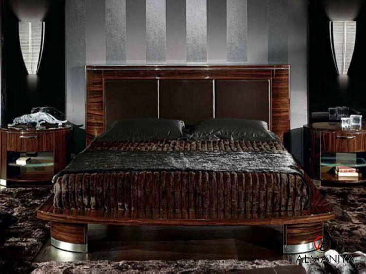 Фото 1 - Спальня Luna фабрики Giorgio Collection (производство Италия) в современном стиле из массива дерева