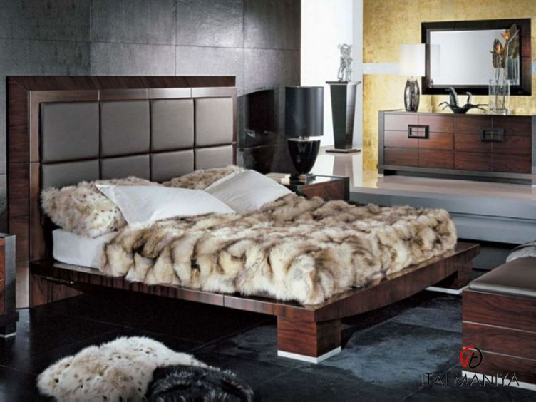 Фото 1 - Спальня Paradiso фабрики Giorgio Collection (производство Италия) в современном стиле из массива дерева