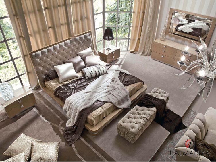 Фото 1 - Спальня Sunrise фабрики Giorgio Collection (производство Италия) в современном стиле из массива дерева