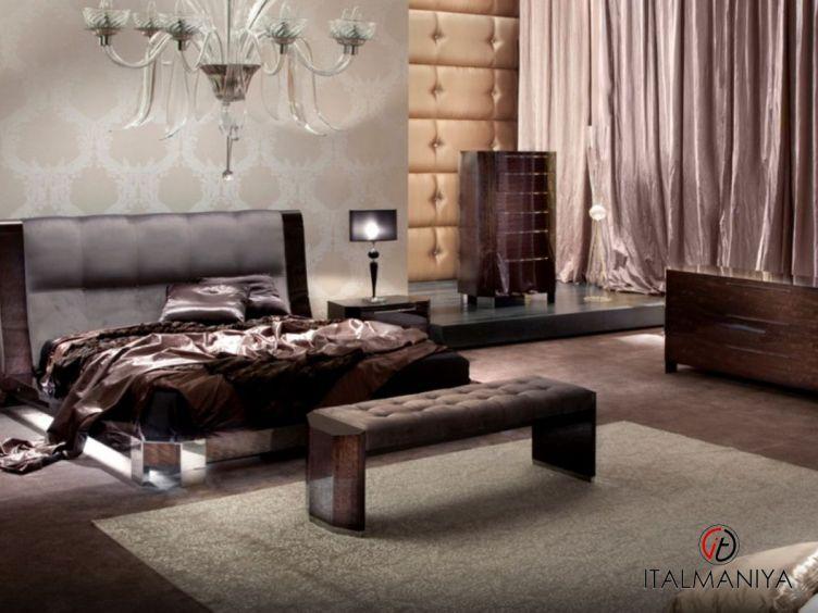 Фото 1 - Спальня Vogue фабрики Giorgio Collection (производство Италия) в современном стиле из массива дерева