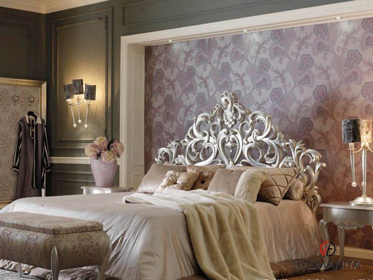 Фото 1 - Спальня Memorie veneziane Silver фабрики Giorgiocasa (производство Италия) в классическом стиле из массива дерева