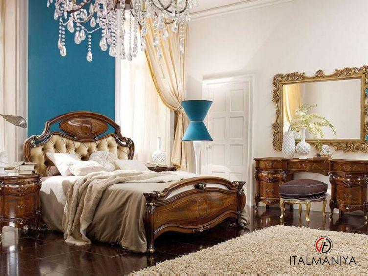 Фото 1 - Спальня Costanza фабрики Grilli (производство Италия) в классическом стиле из массива дерева