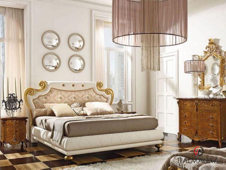 Фото 1 - Спальня Fenice фабрики Grilli (производство Италия) в классическом стиле из массива дерева