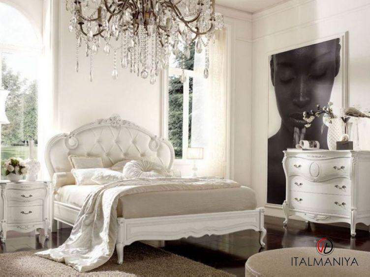 Фото 1 - Спальня Florian фабрики Grilli (производство Италия) в стиле прованс из массива дерева