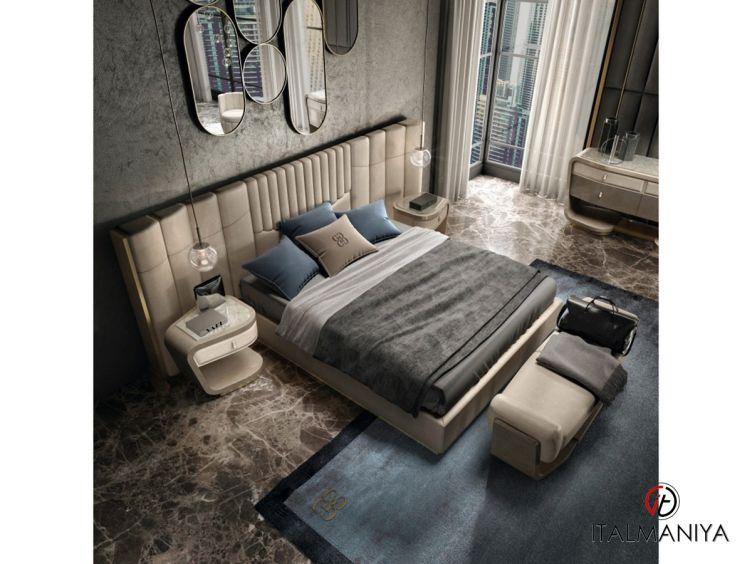 Фото 1 - Спальня Prisma фабрики Grilli (производство Италия) в современном стиле из массива дерева
