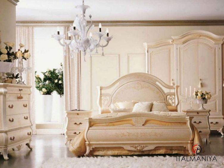 Фото 1 - Спальня Rondo фабрики Grilli (производство Италия) в классическом стиле из массива дерева