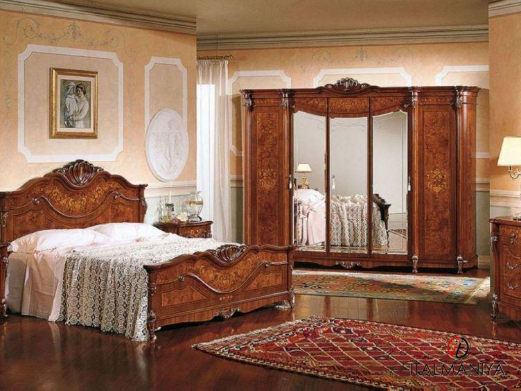 Фото 1 - Спальня Trevi фабрики Grilli (производство Италия) в классическом стиле из массива дерева