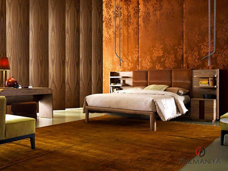 Фото 1 - Спальня York фабрики Grilli (производство Италия) в современном стиле из массива дерева