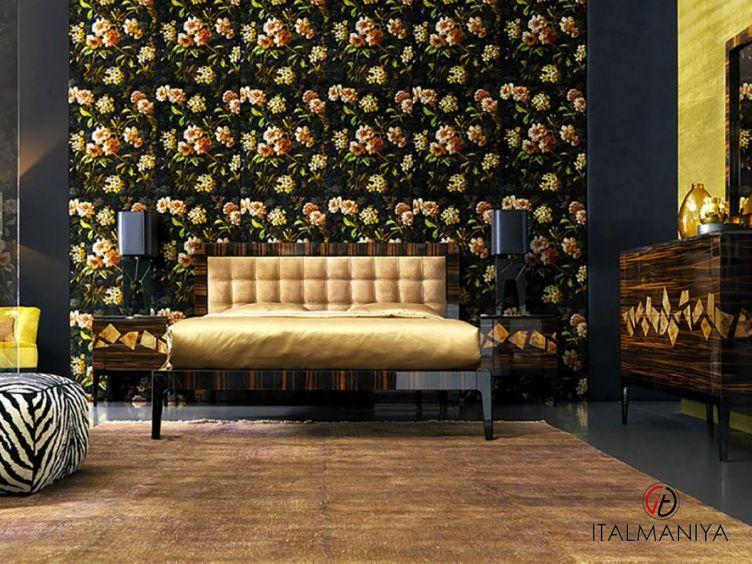 Фото 1 - Спальня Zafara фабрики Grilli (производство Италия) в современном стиле из массива дерева
