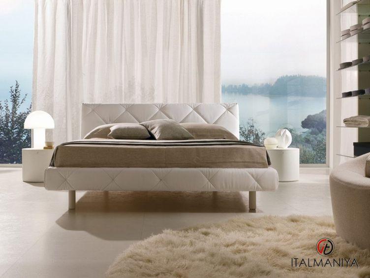 Фото 1 - Спальня Soft фабрики La Falegnami (производство Италия) в современном стиле из массива дерева