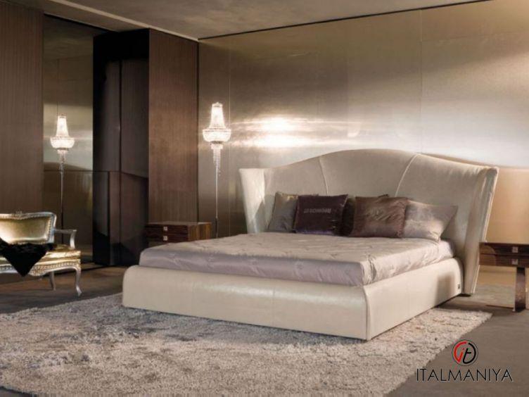 Фото 1 - Спальня Heron фабрики Longhi (производство Италия) в современном стиле из массива дерева