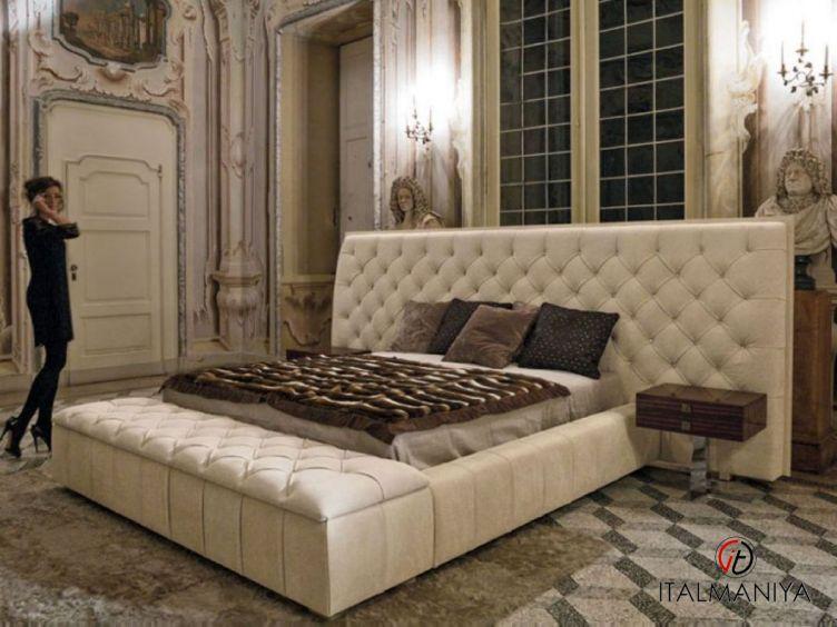Фото 1 - Спальня Napoleon фабрики Longhi (производство Италия) в современном стиле из массива дерева