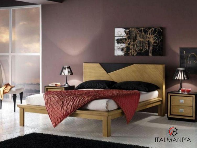 Фото 1 - Спальня Modulor фабрики Lubiex (производство Италия) в современном стиле из массива дерева