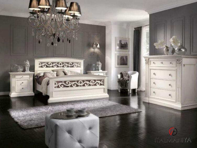 Фото 1 - Спальня Palladiano фабрики Lubiex (производство Италия) в классическом стиле из массива дерева