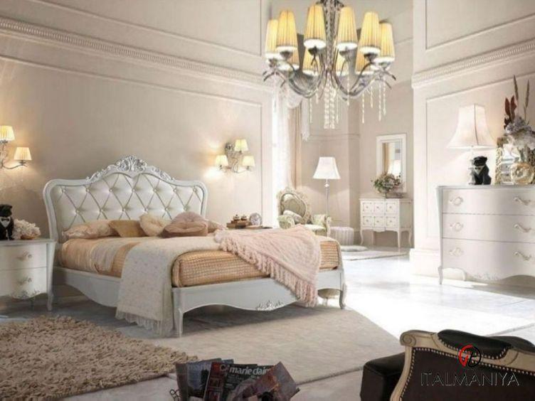 Фото 1 - Спальня Piccolo Sogno фабрики Lubiex (производство Италия) в стиле прованс из массива дерева