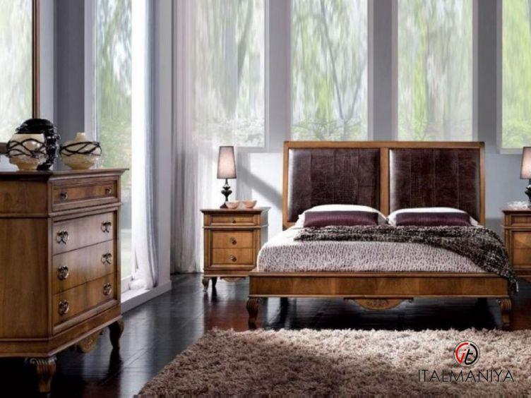 Фото 1 - Спальня Platinum фабрики Lubiex (производство Италия) в классическом стиле из массива дерева
