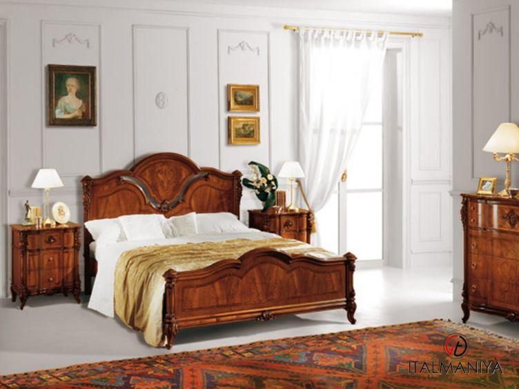 Фото 1 - Спальня Ducale фабрики Mab Cantu (производство Италия) в классическом стиле из массива дерева