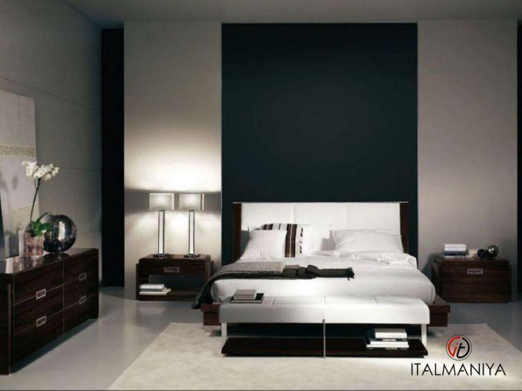Фото 1 - Спальня One & Only фабрики Malerba (производство Италия) в современном стиле из массива дерева
