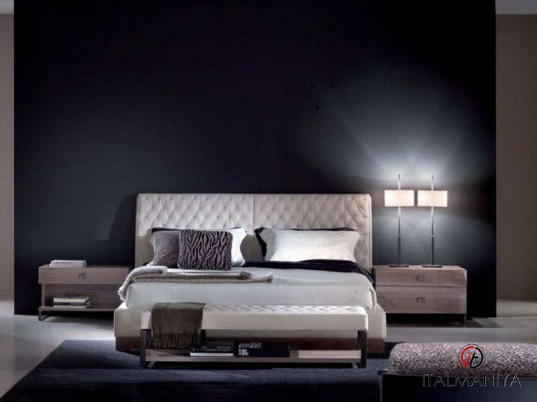 Фото 1 - Спальня Solitare фабрики Malerba (производство Италия) в современном стиле из массива дерева