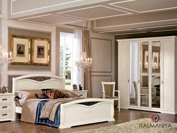 Фото 1 - Спальня Afrodita фабрики Maronese / ACF (производство Италия) в классическом стиле из МДФ
