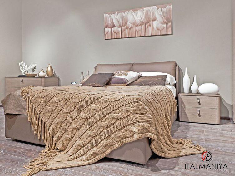 Фото 1 - Спальня Night фабрики Maronese / ACF (производство Италия) в современном стиле из МДФ серые