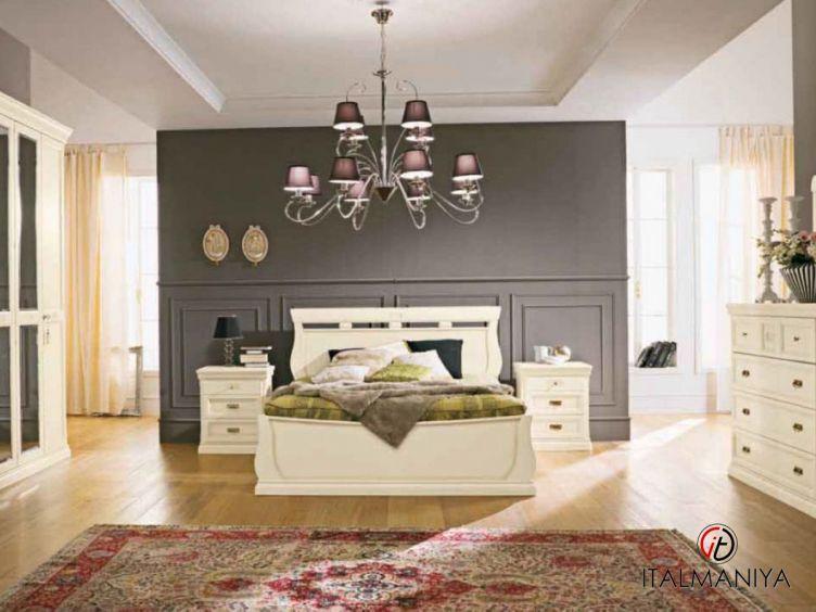 Фото 1 - Спальня Venere фабрики Maronese / ACF (производство Италия) в классическом стиле из массива дерева