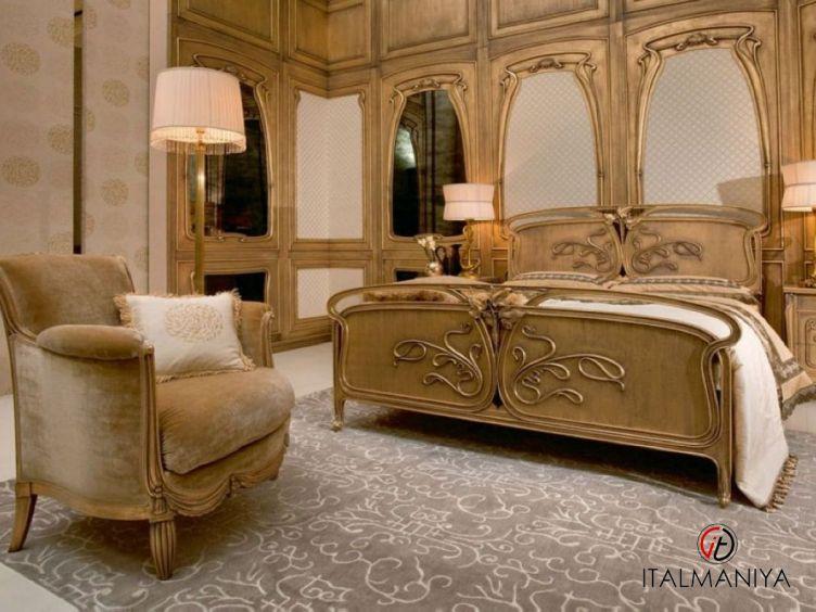 Фото 1 - Спальня Liberty фабрики Medea (производство Италия) в классическом стиле из массива дерева