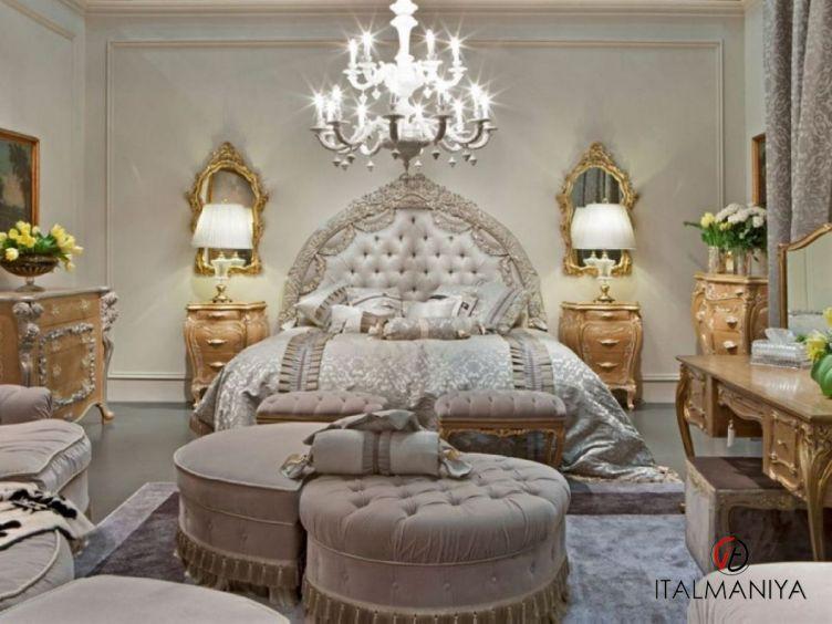 Фото 1 - Спальня Prestige фабрики Medea (производство Италия) в классическом стиле из массива дерева
