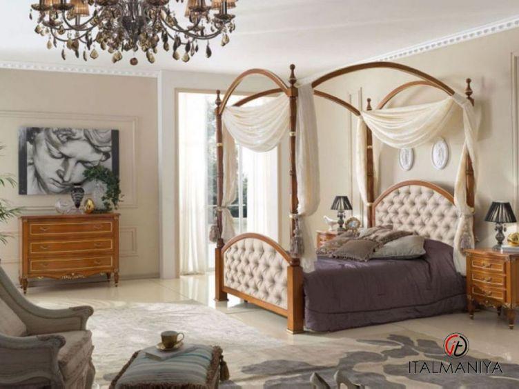 Фото 1 - Спальня Dolcevita фабрики Megaros (производство Италия) в классическом стиле из массива дерева
