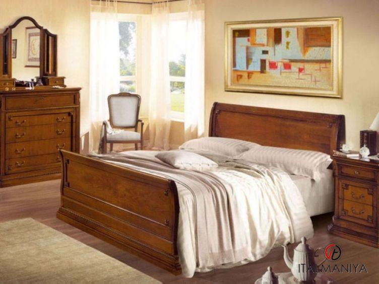 Фото 1 - Спальня Olimpo фабрики Megaros (производство Италия) в классическом стиле из массива дерева