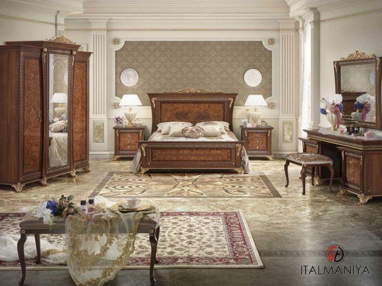 Фото 1 - Спальня Aida фабрики Mobil Piu (производство Италия) в классическом стиле