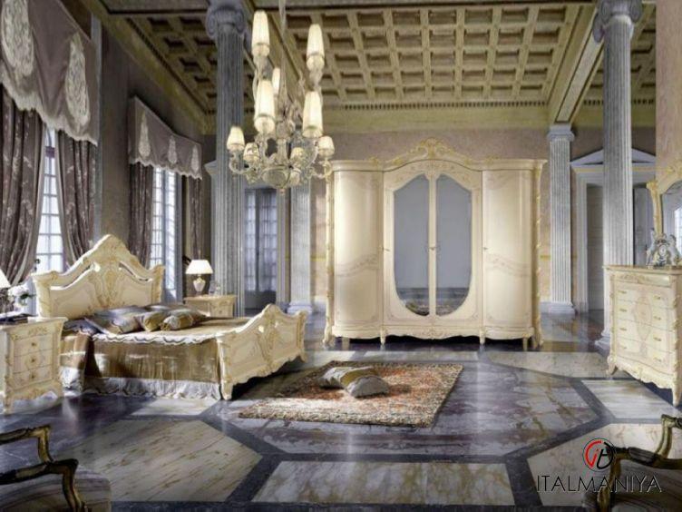 Фото 1 - Спальня Madame Royale фабрики Mobil Piu (производство Италия) в классическом стиле из массива дерева