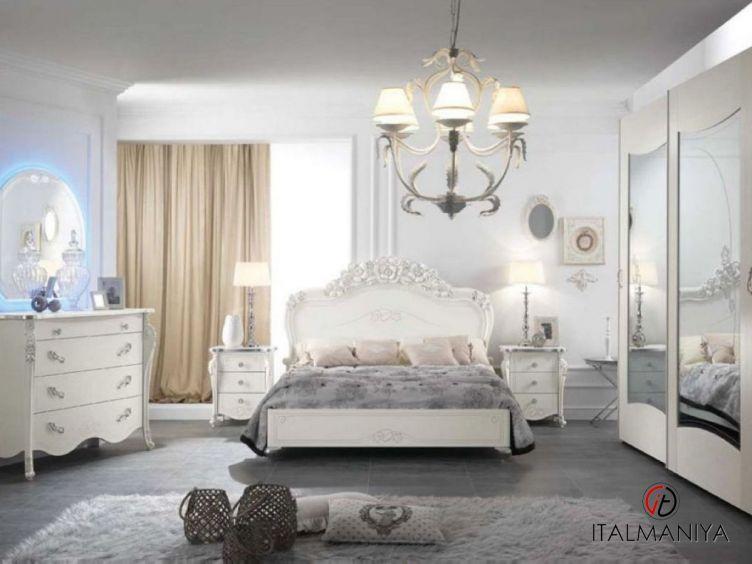 Фото 1 - Спальня Viola фабрики Mobil Piu (производство Италия) в современном стиле из массива дерева