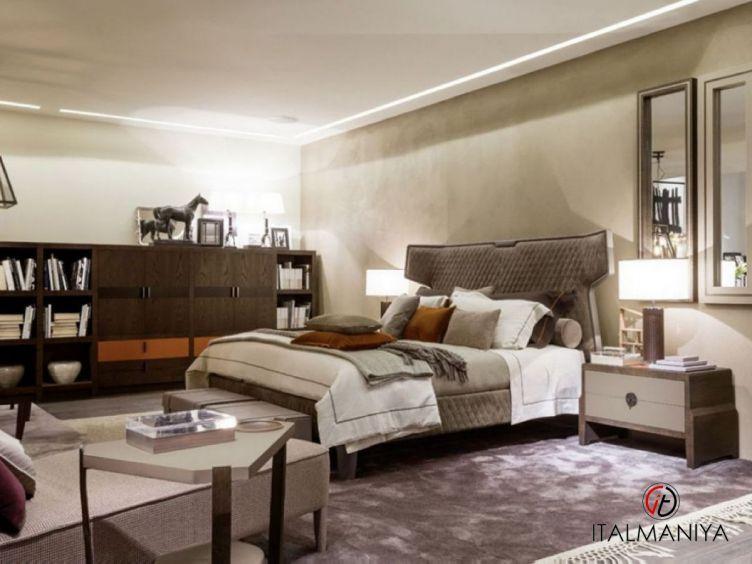 Фото 1 - Спальня Kimono фабрики Mobilidea (производство Италия) в современном стиле из массива дерева