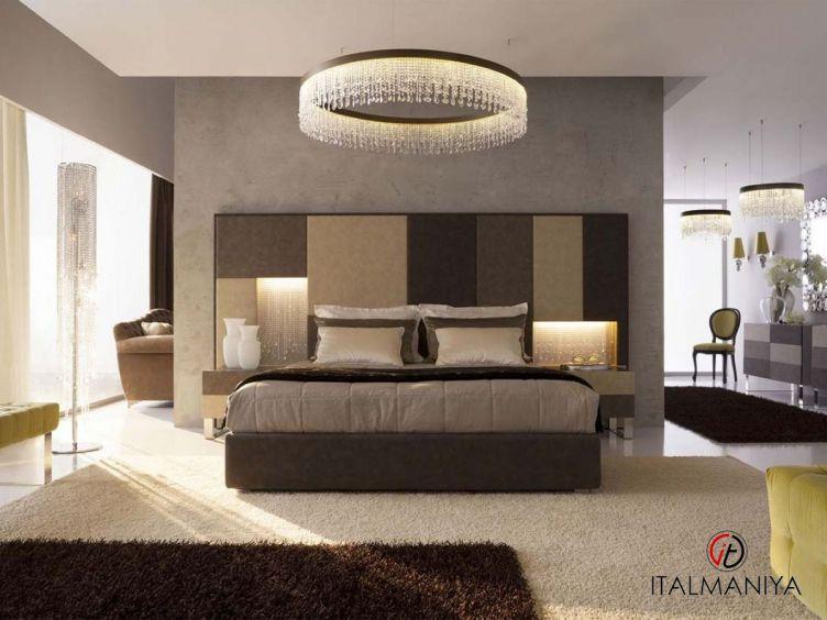 Фото 1 - Спальня ML9800LKS фабрики OF Interni (производство Италия) в современном стиле из массива дерева