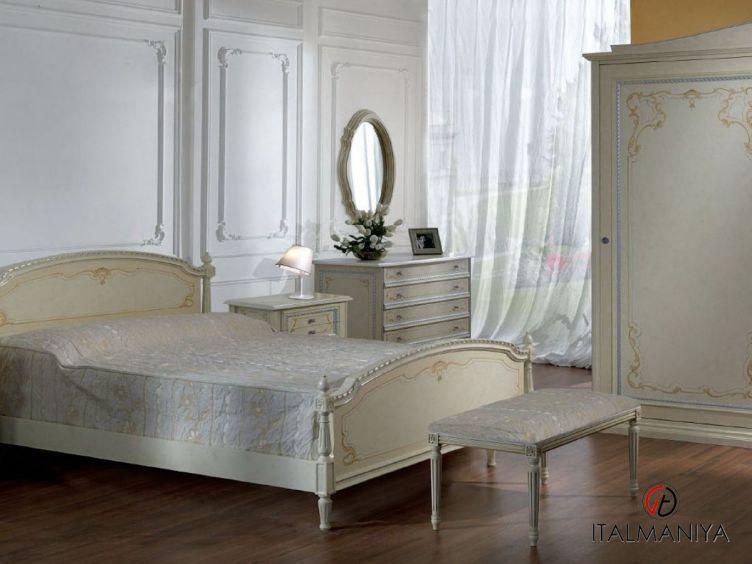 Фото 1 - Спальня Alba фабрики Pellegatta (производство Италия) в стиле прованс из металла