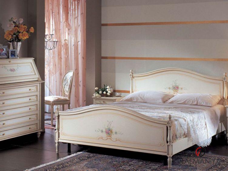 Фото 1 - Спальня Cleo Matrimoniale фабрики Pellegatta (производство Италия) в стиле прованс из массива дерева